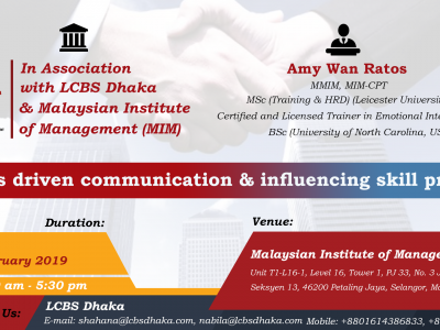 Results Driven Communication & Influencing Skill Program