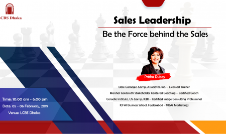 Sales Leadership | Be the Force Behind the Sales