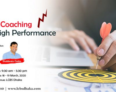 Sales Coaching for High Performance