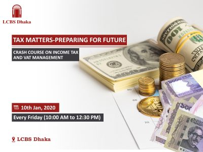 CRASH COURSE ON INCOME TAX AND VAT MANAGEMENT