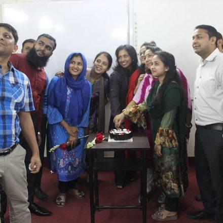 Celebrating Women's Day 2020 at LCBS Dhaka