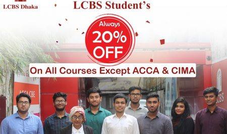 LCBS Student always 20% Discount except ACCA & CIMA