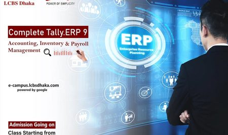 Tally ERP 9 for Accounting, Inventory & Payroll Management (Batch-04)