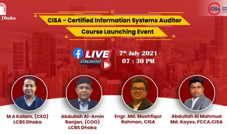 CISA – Certified Information Systems Auditor course launching event.