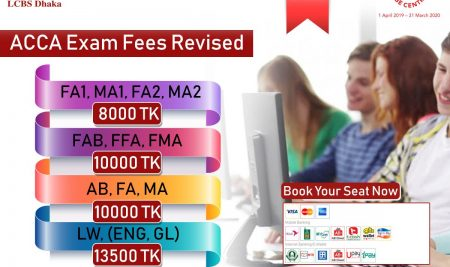 ACCA CBE Exam Fees Revised