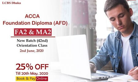 We are also delighted to be able to offer a 25% discount on the enrollment fees within 20th May 2020.