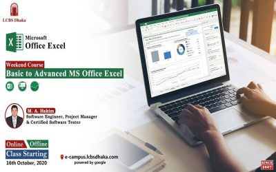 Basic to Advanced MS Office Excel Essentials | Weekend Course