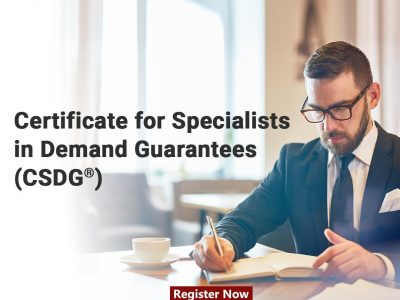 Certificate for Specialists in Demand Guarantees (CSDG®)