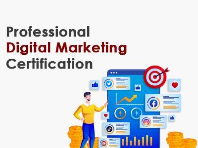 Professional Digital Marketing Certification
