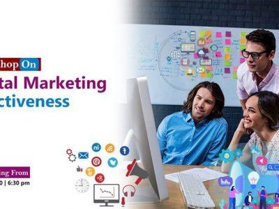 Certificate Workshop on Digital Marketing Effectiveness