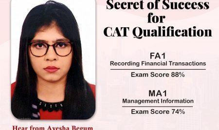 Secret Of Success for CAT Qualification