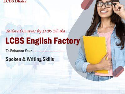 LCBS English Factory – Spoken & Writing