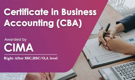 CIMA-CBA (Certificate in Business Accounting)